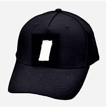 jm stripe baseball cap