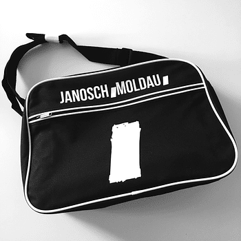 jm retro bag black
