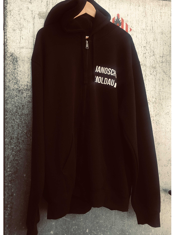 jm stripe black hoody