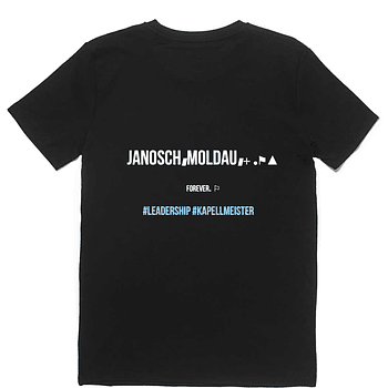 jm leadership tshirt (special fanclub edition)