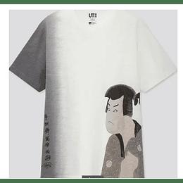 Polera Uniqlo EDO Samurai (tallas japonesas)