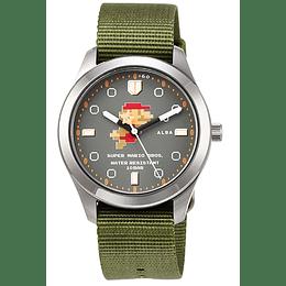 Reloj Super Mario 8 BITS Seiko Alba 8 BITS Green