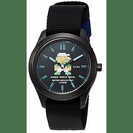 Reloj Super Mario 8 BITS Seiko Alba Luigi