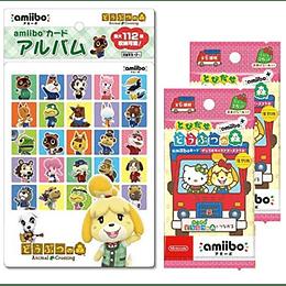 Pack Album + 2 Sobres Amiibo Animal Crossing Sanrio