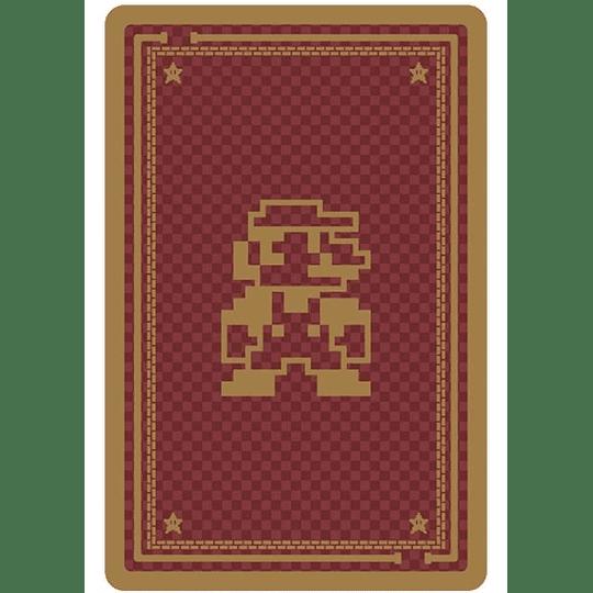 Pack dos Juegos Naipes Super Mario 8 BITS