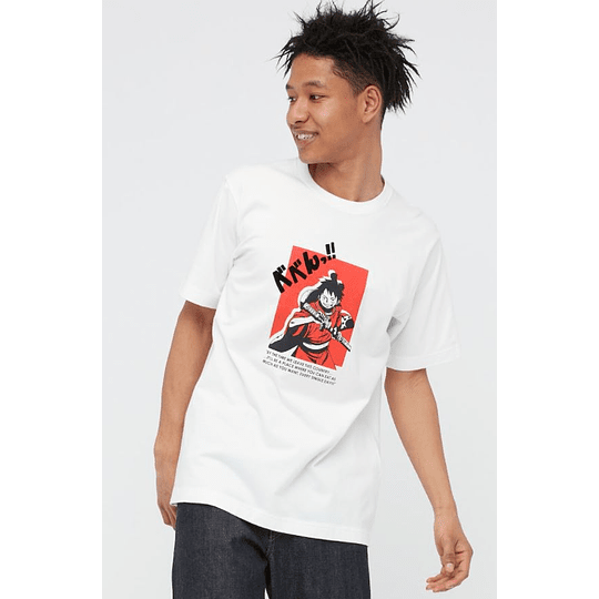 Polera One Piece (tallas Japonesas)