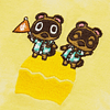Polera Niños Animal Crossing 110 Yellow
