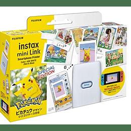 "Fujifilm Instax Mini Link Pokémon - ""Pikachu"" Silicone Case Set"