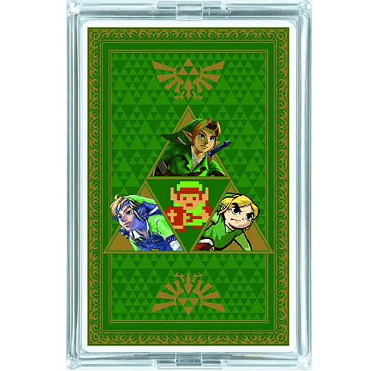 Pack dos Juegos Naipes The Legend OF Zelda