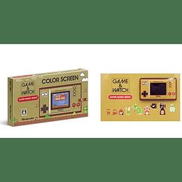 Game & Watch Super Mario Color + PIN Exclusivo Japón