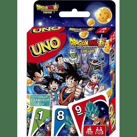 Cartas UNO Dragon Ball Super