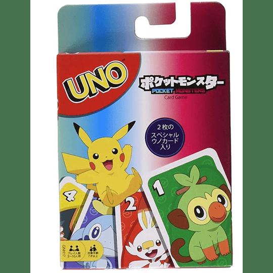 Cartas UNO Pokémon