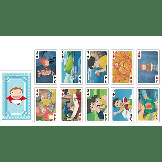 Pack dos Juegos Naipes Ponyo