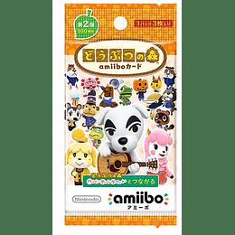 Sobre Cartas Amiibo Animal Crossing Serie 2 Japonesas