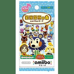 Sobre Cartas Amiibo Animal Crossing Serie 3 Japonesas