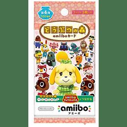 Sobre Cartas Amiibo Animal Crossing Serie 4 Japonesas