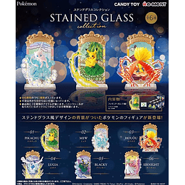 Figuras Pokémon Stained Glass Collection Box