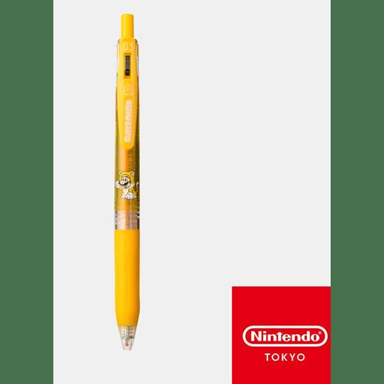 Lápiz pasta Super Mario 3D Wrold Amarillo 0.5