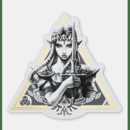 sticker TriFuerza Nintendo Tokyo