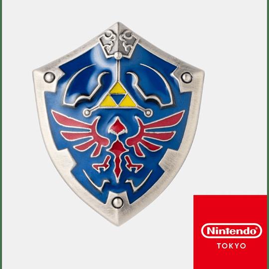 PIN The Legend OF Zelda Nintendo Tokyo Hylian Shield