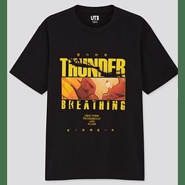 Polera Kimetsu NO Yaiba  Thunder(tallas Japonesas)