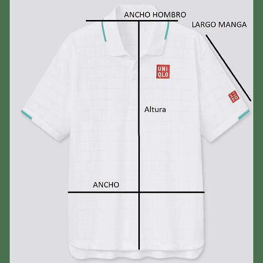 Polera Federer Wimbledon 2021 (tallas Japonesas)