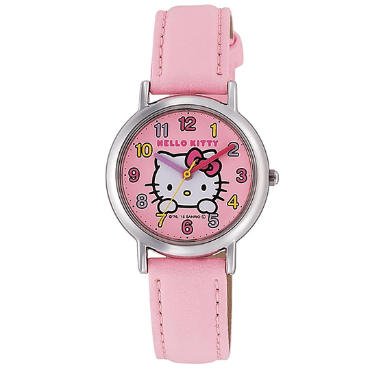 Reloj Hello Kitty Citizen Q&Q Pink - Color Numbers