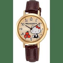 Reloj Hello Kitty Citizen Q&Q Golden Apples