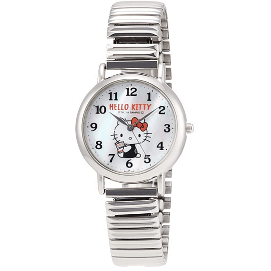 Reloj Hello Kitty Citizen Q&Q Metal Strap