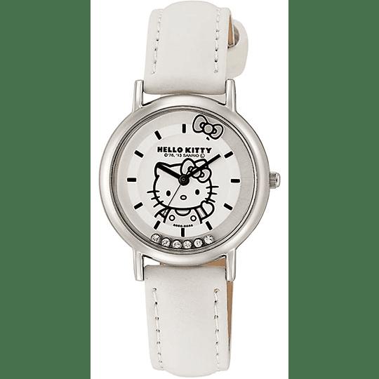 Reloj Hello Kitty Citizen Q&Q White