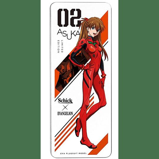 Maquina de Afeitar EVANGELION ASUKA Edición Limitada Schick