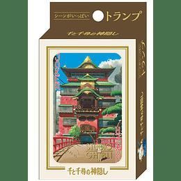 Pack dos Juegos Naipes el Viaje de Chihiro