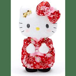 Peluche Hello Kitty Sakura Kimono 22CM