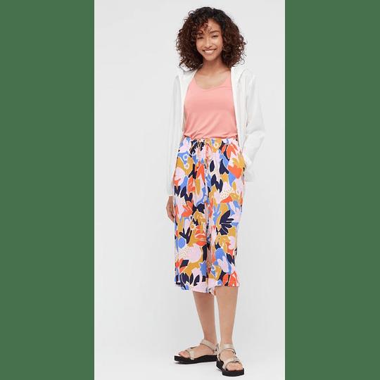 Shorts 3/4 Uniqlo Relaco Yellow (tallas japonesas)