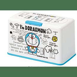 dispensador  mascarillas Doraemon