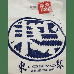 Polera Uniqlo Tokyo L Japones