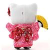 Peluche Hello Kitty Sakura Kimono with Fan 27M