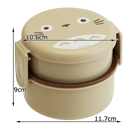Bento Box Mi Vecino Totoro Redondo