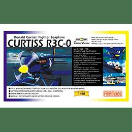 Avión a Escala (1/48) Porco Rosso - Curtiss R3C-0 Armable