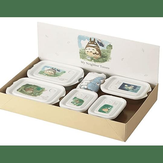 Contenedores de Alimentos Mi Vecino Totoro