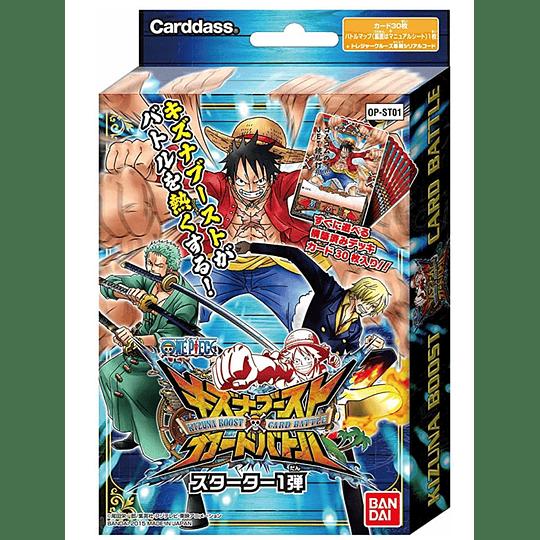 ONE PIECE Kizuna Boost Card Battle Starter Set 1 [OP-ST01]