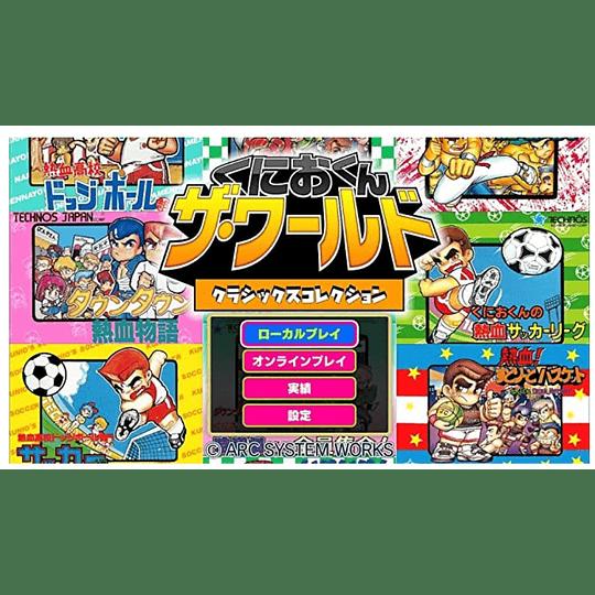 Kunio-kun: The World Classics Collection  - Exclusivo Japón