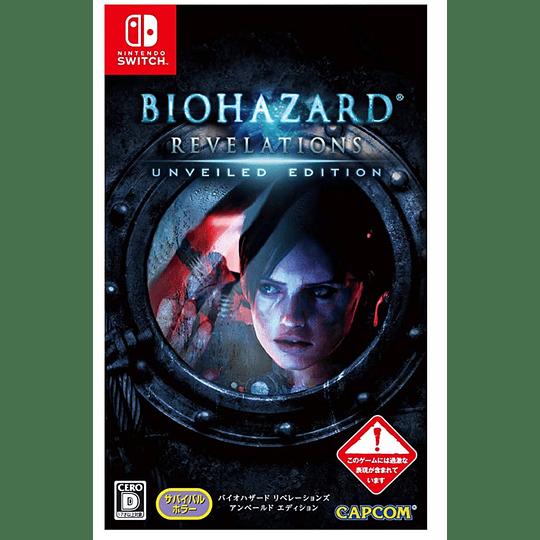 Biohazard Revelations Unveiled Edition  - Exclusivo Formato Físico Japón