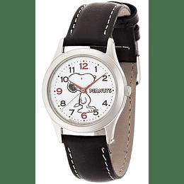 Reloj Snoopy Q&Q Black Strap