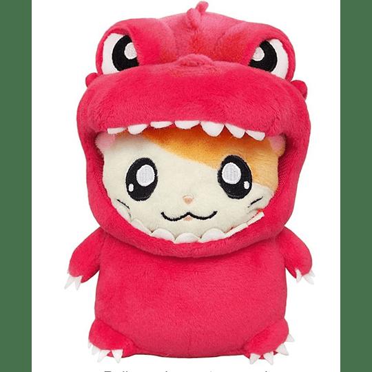 Peluche Hamtaro Red Dinosaur 13,5CM