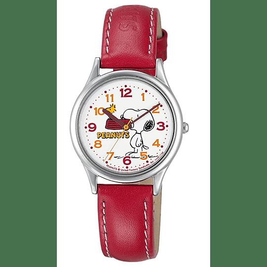 Reloj Snoopy Q&Q Red Strap