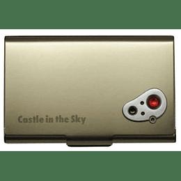 Tarjetero Metálico Castillo en el Cielo