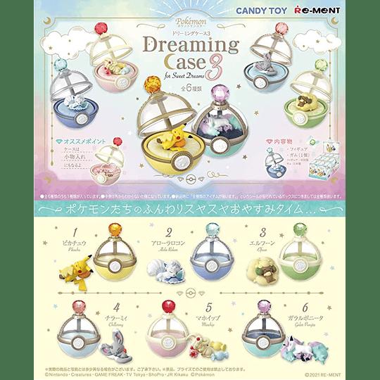 Figuras Pokémon terrarium Dreaming Case