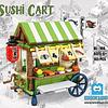 Carrito Sushi Armable