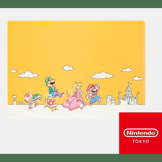 Carpeta Super Mario Bros Family Nintendo Tokyo